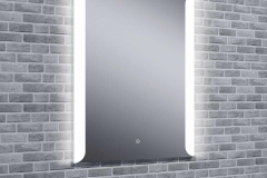 Aura Tempo LED Mirror With Bluetooth Speakers