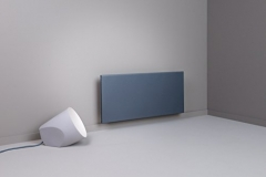 Adax Eco Electric Panel Heater in Lava Grey