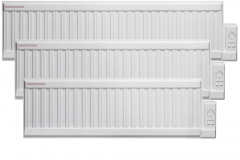 Adax ALO Oil Filled Electric Radiator, Low Profile (Wall Mounted or Portable)