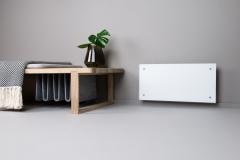 Adax Clea Electric Panel Heater in White