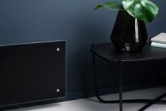Adax Clea Electric Panel Heater in Black