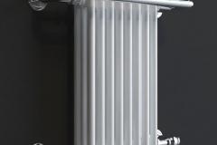 Aura Pax Traditional Heated Towel Rail