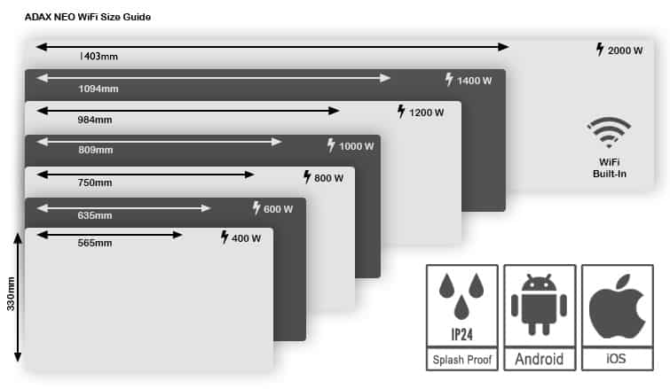 ADAX-Neo-Wifi-Size-Guide
