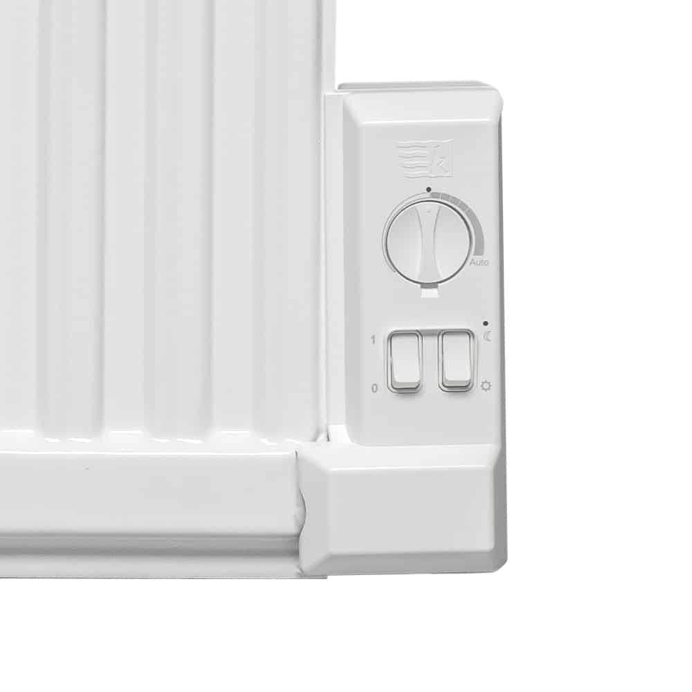 Adax Apo Oil Filled Electric Radiator Wall Mounted