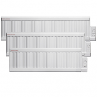 Adax ALO Oil Filled Electric Radiator, Low Profile, Wall Mounted. LOT 20 / ErP Compliant.