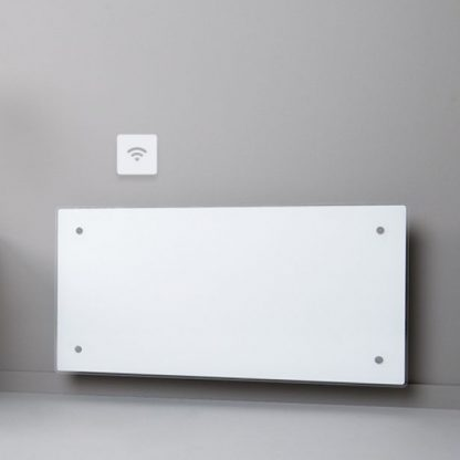 Adax Clea Wifi Smart Electric Radiator Flat Panel Convector Heater With Timer, Smartphone Control. White