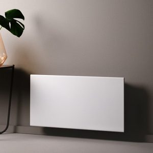 Adax Eco Electric Panel Heater, Wall Mounted Convector Radiator. White