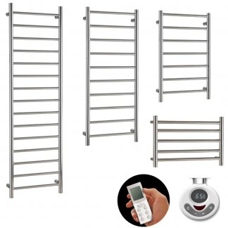 Thermostatic Electric Heated Towel Rails With Timer