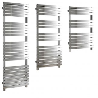 Aura Curve Flat Panel Towel Warmers