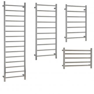 Buy Designer Chrome Towel Warmers For Central Heating. £84 - £121