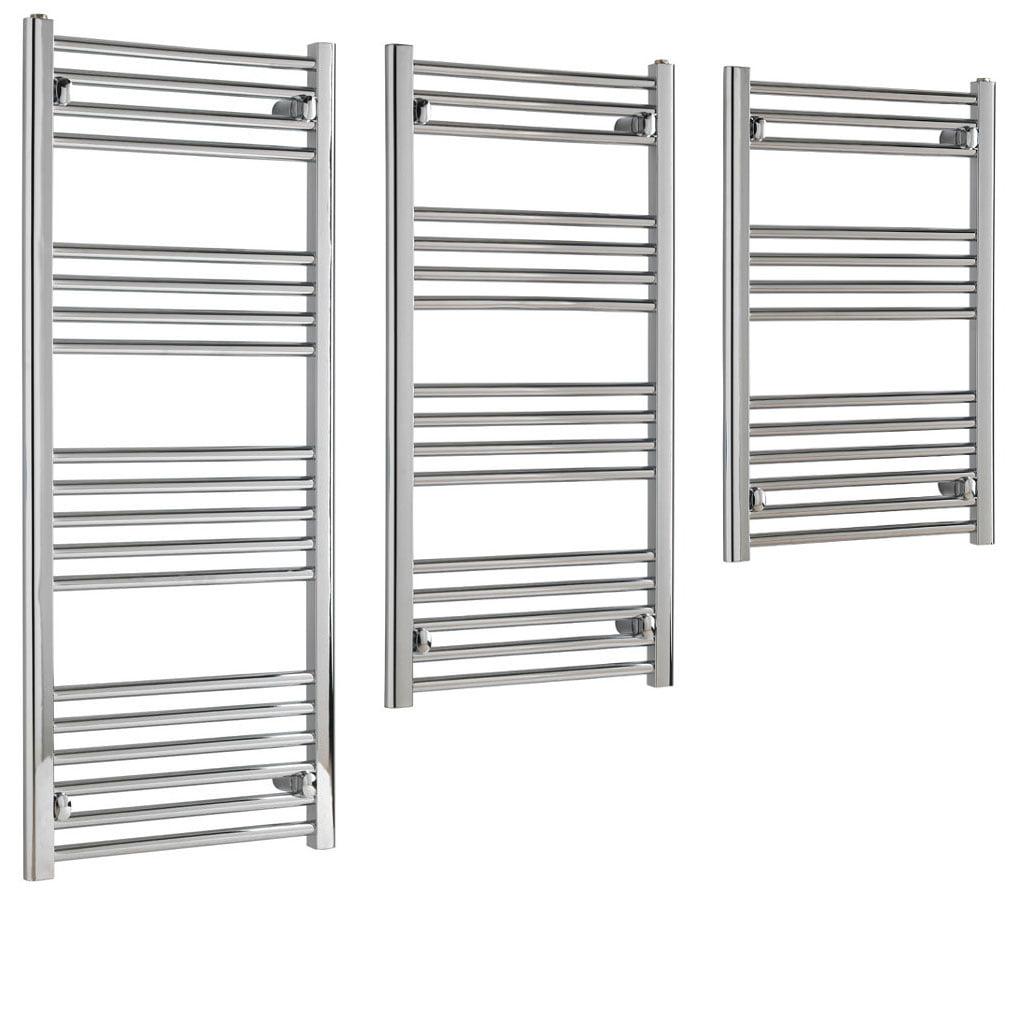 Aura 22 Budget Towel Warmer – Central Heating (Chrome)