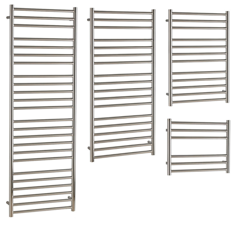 Aura Steel Stainless Steel Towel Warmer - Central Heating