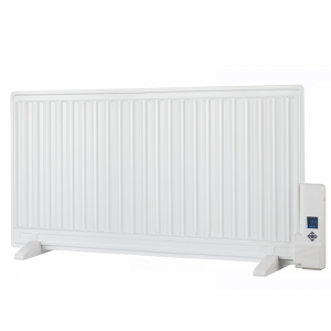 Aura Oil-Filled Electric Radiator + Timer & Thermostat - Wall Mounted / Portable