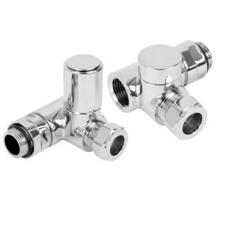 Dual Fuel Radiator Valves For Heated Towel Rails
