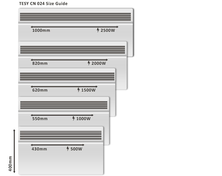 tesy-cn024-size-guide