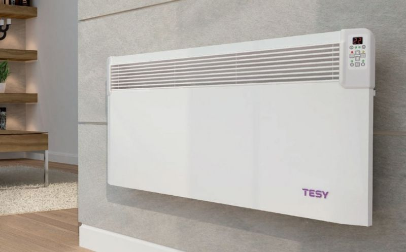 Tesy Cn04 Splash Proof Electric Wall Heater Timer Erp