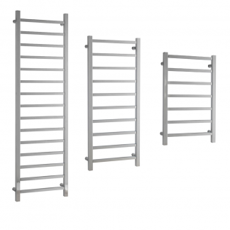 Aura Quadro Square Tube Towel Warmers
