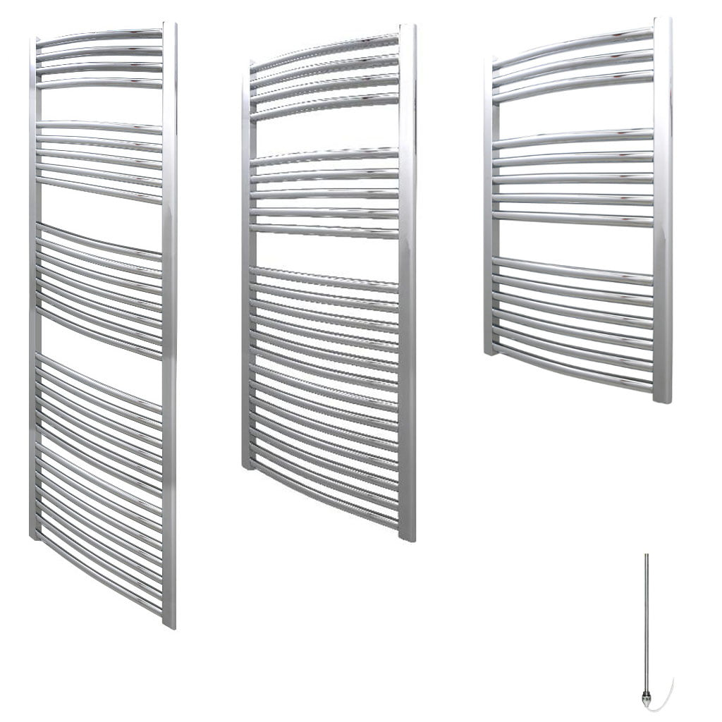 aura 25 curved electric towel warmer