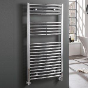curved-chrome-heated-towel-rail-central-heating