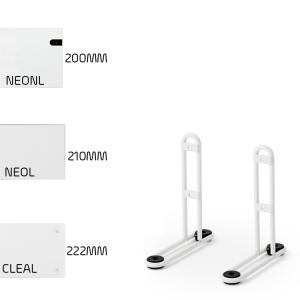adax-low-height-leg-brackets-neo-clea-wifi-electric-panel-heaters