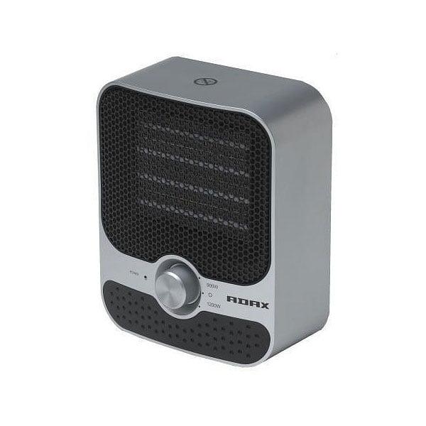 Adax Modern Portable Electric Fan Heater (VV23) 1200W. Small, Modern