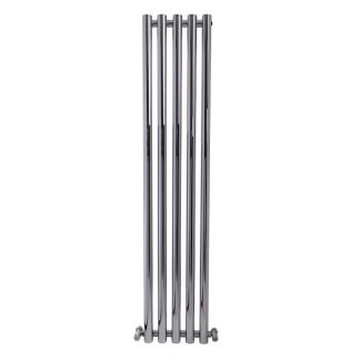 aura-mondo-round-tube-vertical-feature-radiator-chrome-main