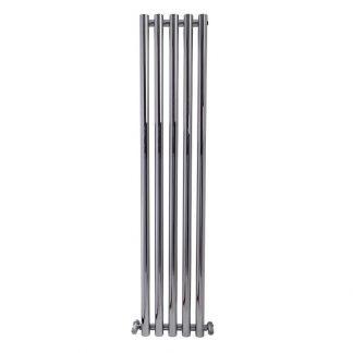 aura-mondo-round-tube-vertical-feature-radiator-chrome-main