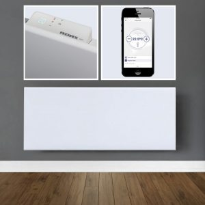 Home Automation Modern Electric Panel Heater / Convector, Wall Mounted (NEO  WIFI)