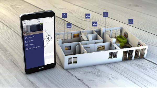 Adax Clea WiFi Glass Electric Convection Radiator Smart Home Panel Heater