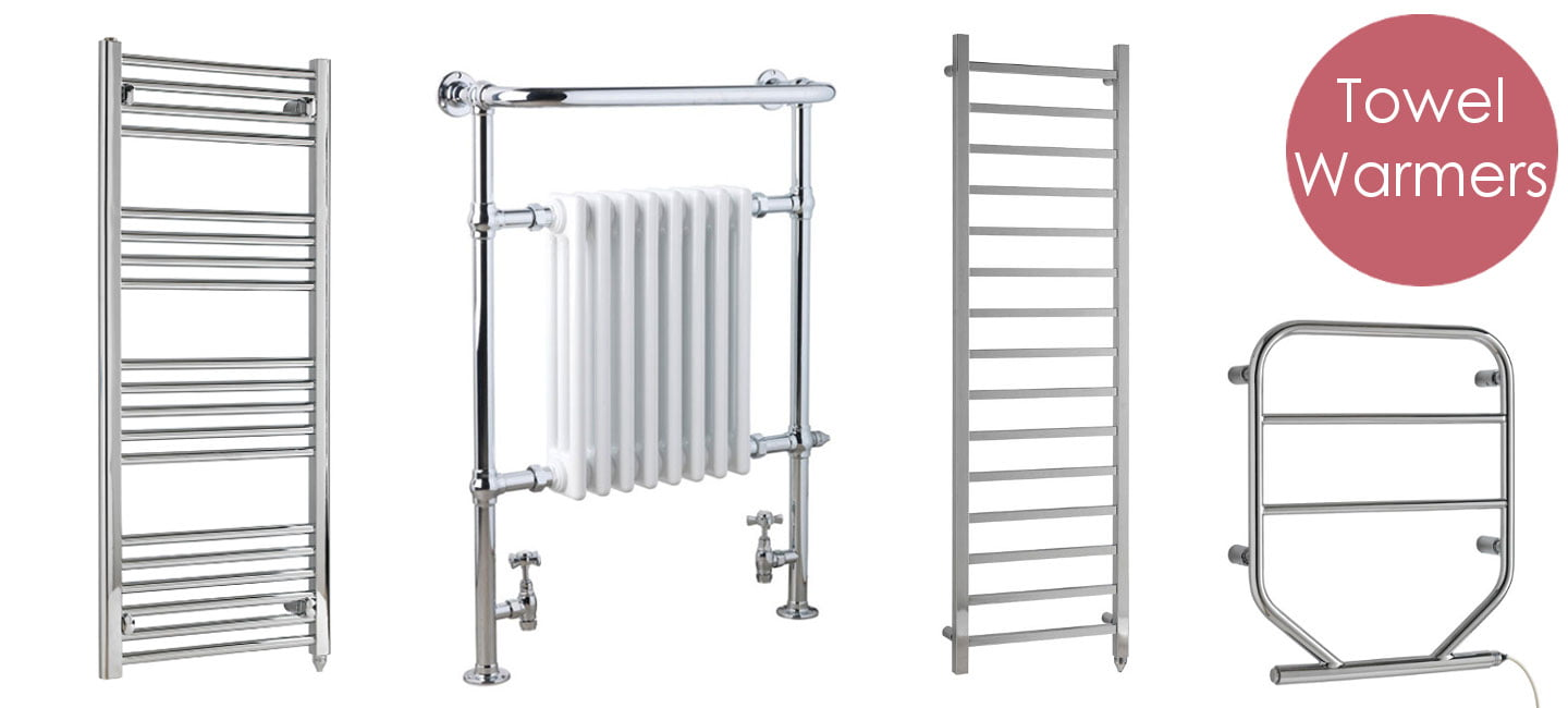 Heated Towel Rails. Electric, Thermostatic or Central Heating. Buy Online - UK Shop