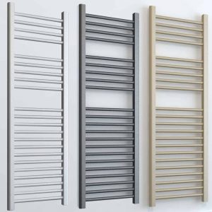 Aura 25 Straight Towel Warmer - Central Heating