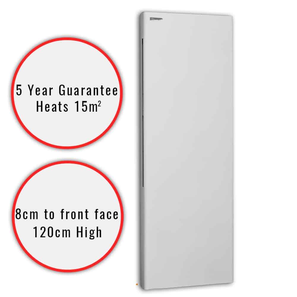 Deko Vertical Electric Wall Heater Splash Proof Buy
