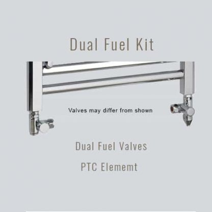 Aura Cube Square Tube Dual Fuel Towel Warmer