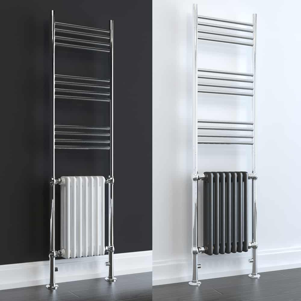 Aura Dux Elements Traditional Dual Fuel Towel Warmer