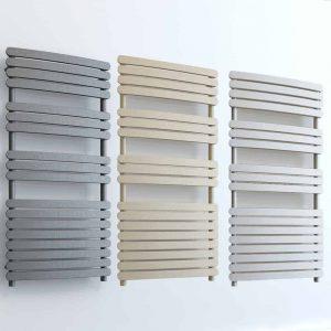 Aura Curve Flat Panel Towel Warmer - Central Heating