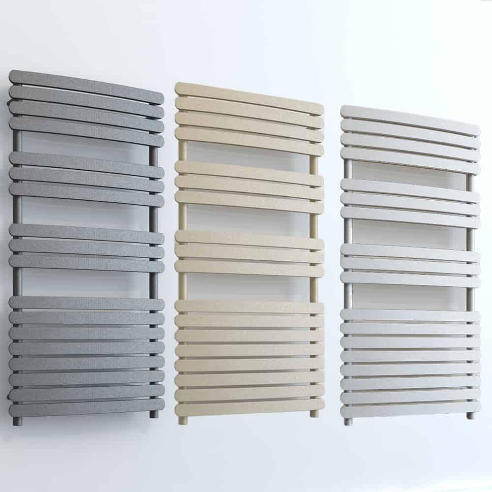 Aura Curve Flat Panel Towel Warmer – Central Heating 1