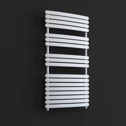 Aura Curve Flat Panel Towel Warmer - Central Heating