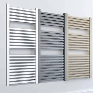 Aura Cube Square Tube Towel Warmer - Central Heating