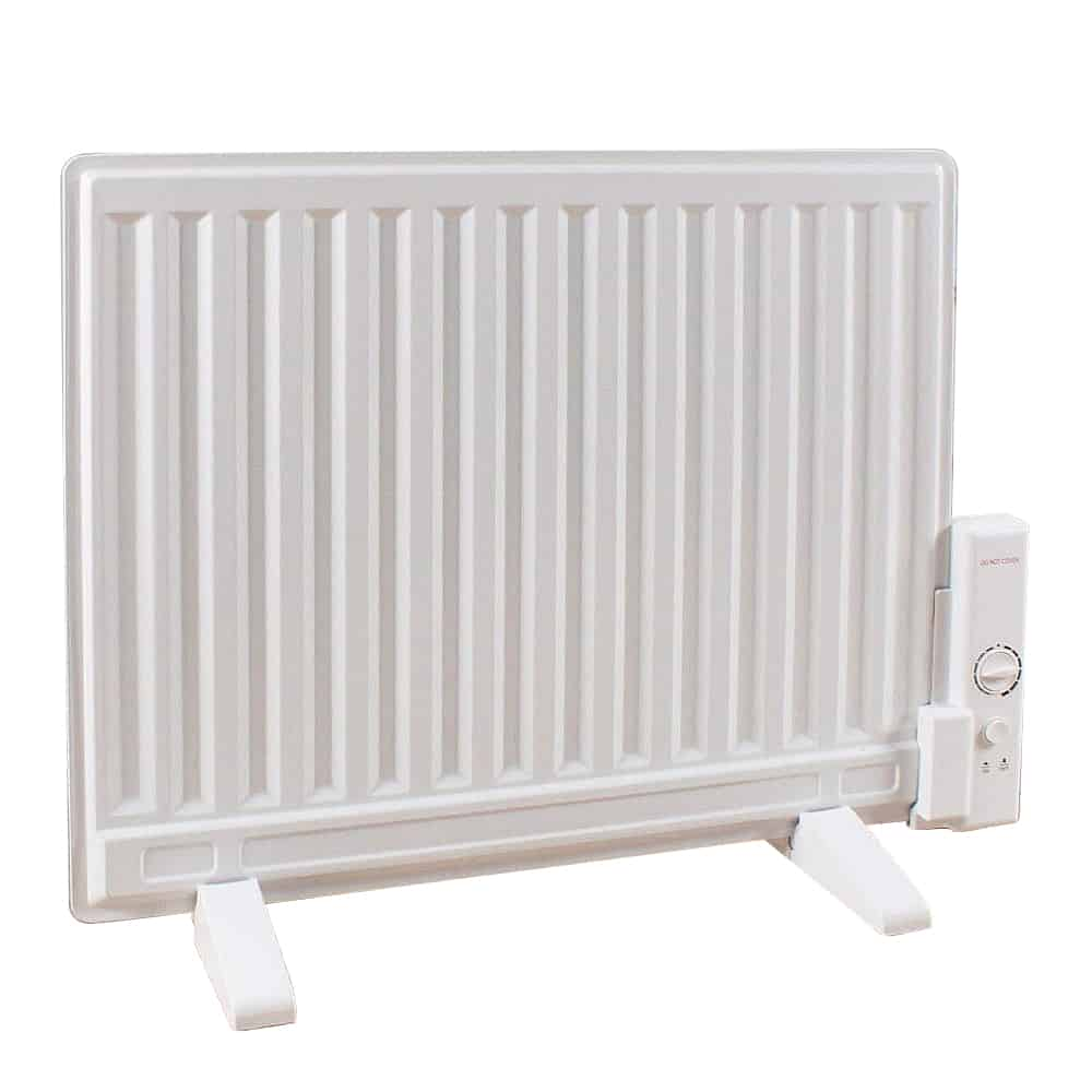 Aura Astra Oil Filled Electric Radiator Wall Mounted Or