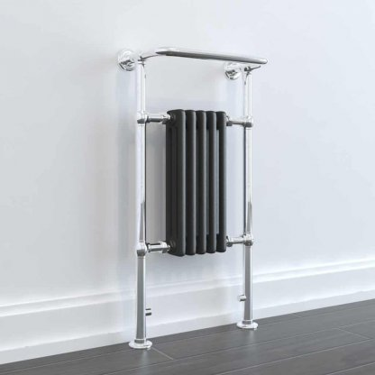 Aura Rex Traditional Towel Warmer - Central Heating