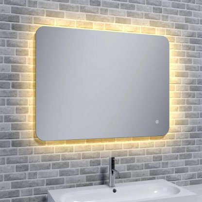Reflections Rona Slim, Illuminated LED Mood Light with Demister - Horizontal or Vertical