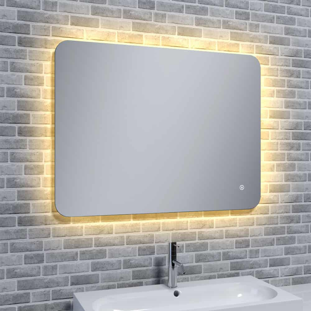 Aura Shine Bathroom Led Mirror With Mood Changing Light