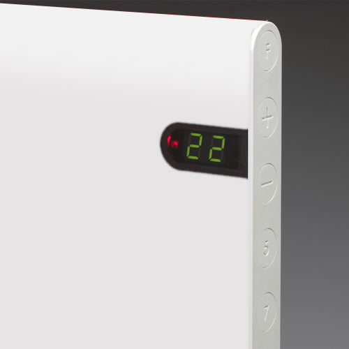 Adax Neo Low Profile Electric Wall Heater Timer Modern