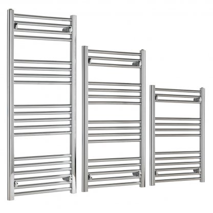 Aura 22 Budget Thermostatic Electric Towel Warmer With Timer (Chrome)