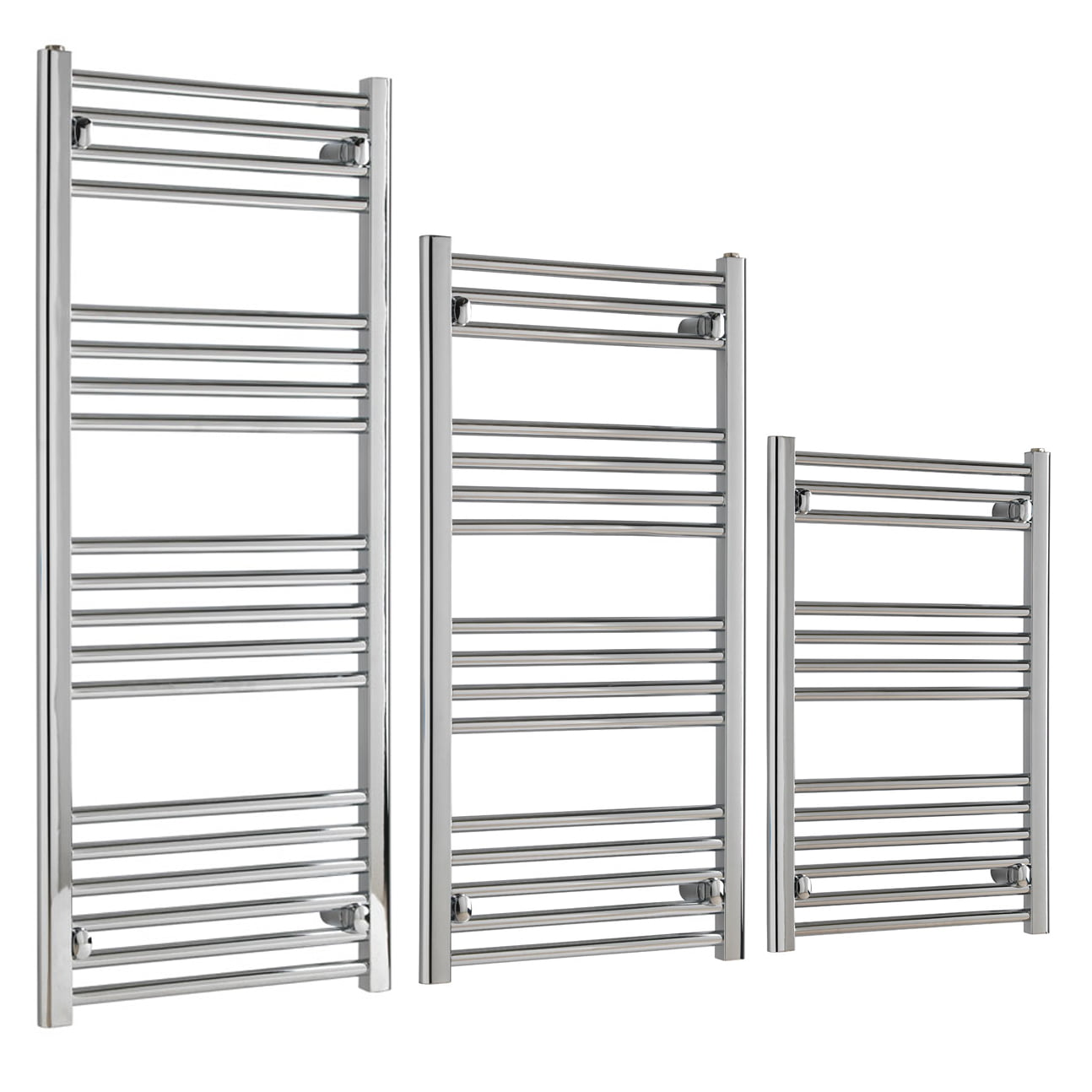 Aura 22 Budget Towel Warmer – Central Heating (Chrome) 4