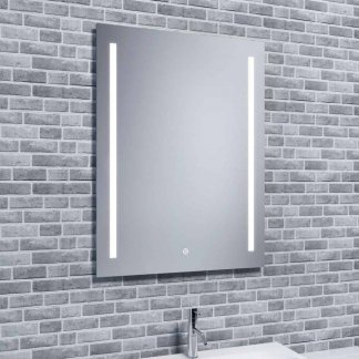 Buy Aura Duo Bathroom LED Mirror + Demister, Shaver Socket £151-£166