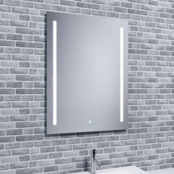 Buy Aura Duo Bathroom LED Mirror + Demister, Shaver Socket £151-£166
