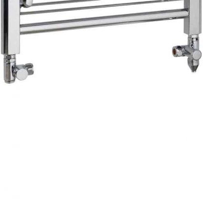 Aura Convex Flat Panel Dual Fuel Towel Warmer (Chrome)