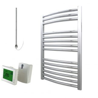Electric Heated Towel Rails With Wireless Timer