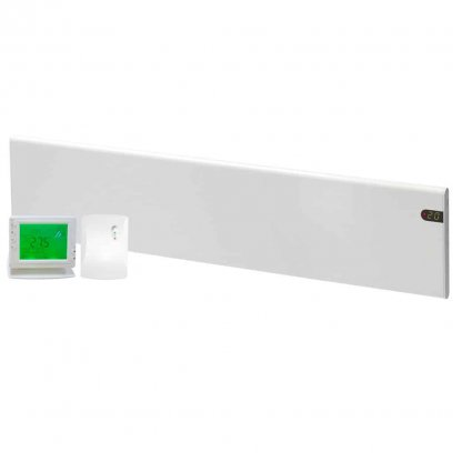 ADAX NEO Electric Panel Heater, Low Profile + Wireless Timer, Thermostat